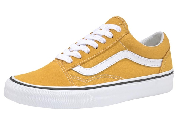 Sneakers für Frauen - VANS Sneaker 'Old Skool' gelb  - Onlineshop ABOUT YOU