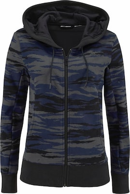 ADIDAS PERFORMANCE Kapuzensweatjacke »ESSENTIALS LINEAR HOODY AOP«