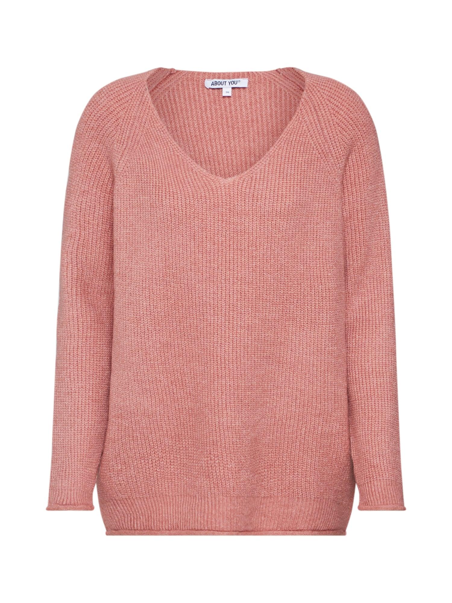 ABOUT YOU Megztinis 'Laren Jumper' rožių spalva