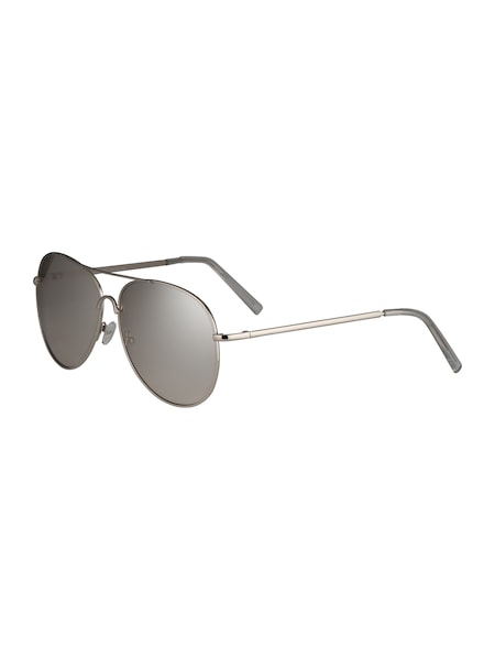 Sonnenbrillen für Frauen - NEW LOOK Sonnenbrille 'MIRRORED PILOT' grau  - Onlineshop ABOUT YOU