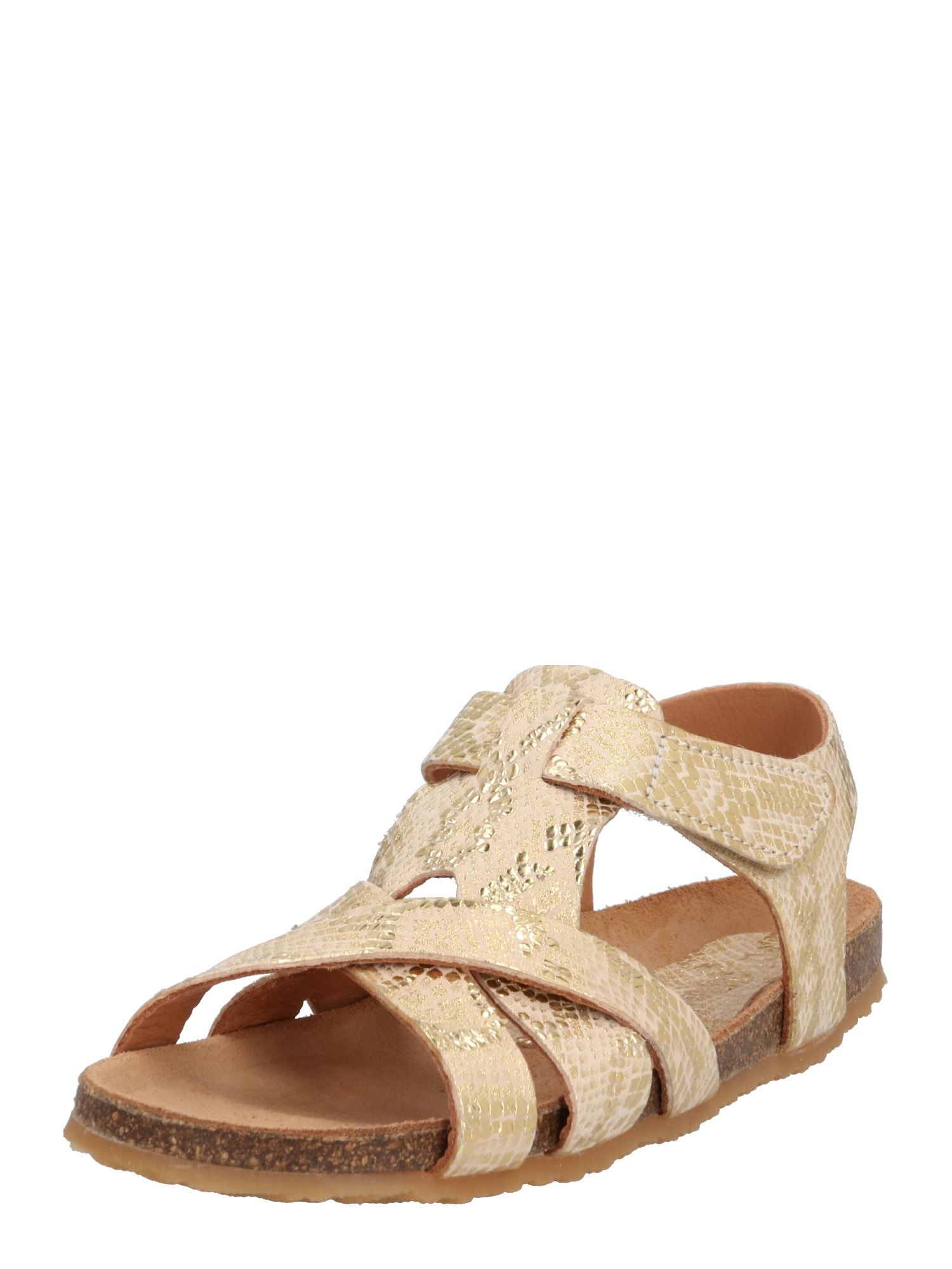 BISGAARD Sandále  zlatá / béžová