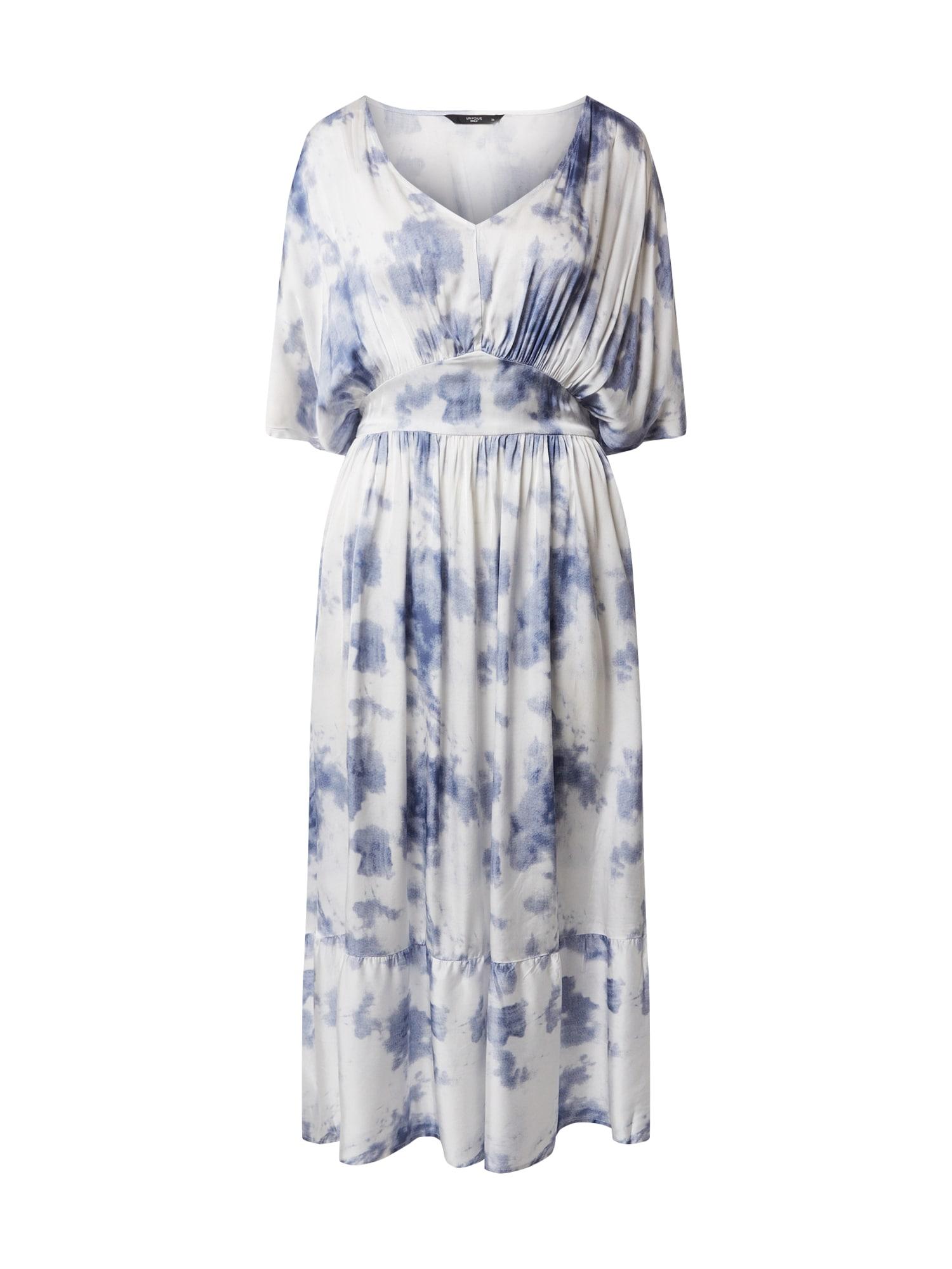 ONLY Šaty 'ONQSIRI'  modré / biela