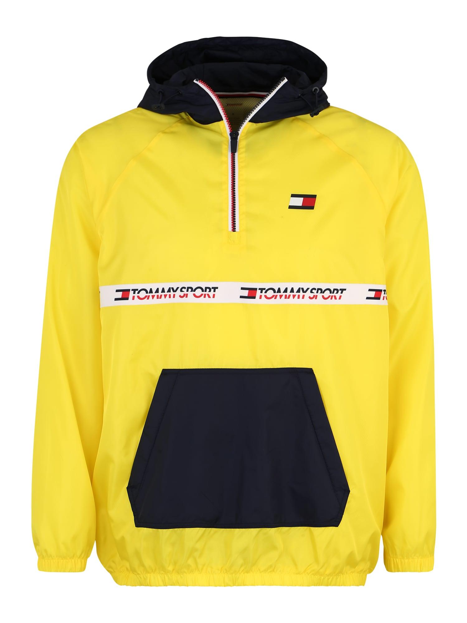 Sportovní bunda 8 noční modrá žlutá svítivě červená černá bílá Tommy Sport