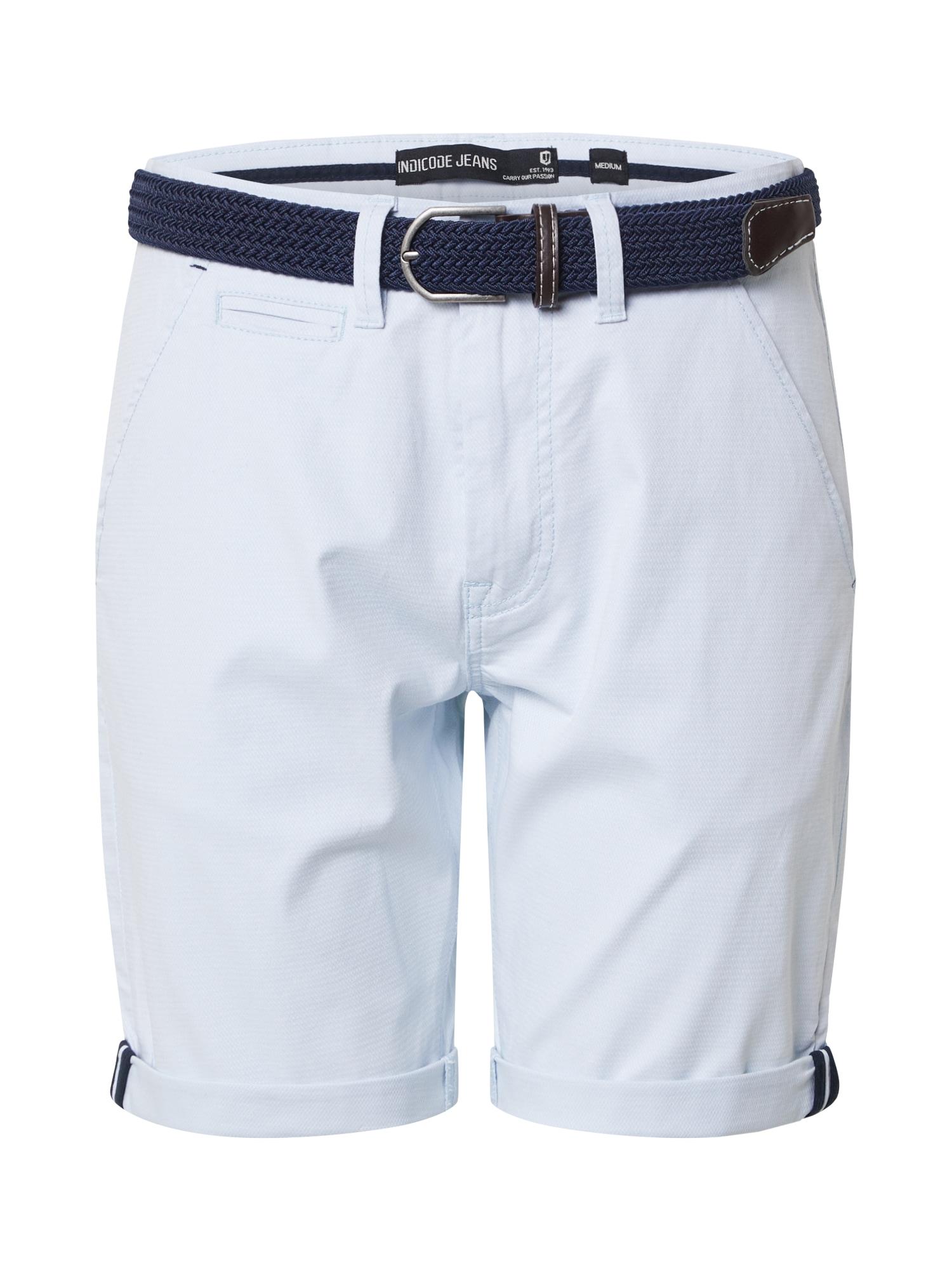 INDICODE JEANS Chino stiliaus kelnės 'Dignum' mėlyna