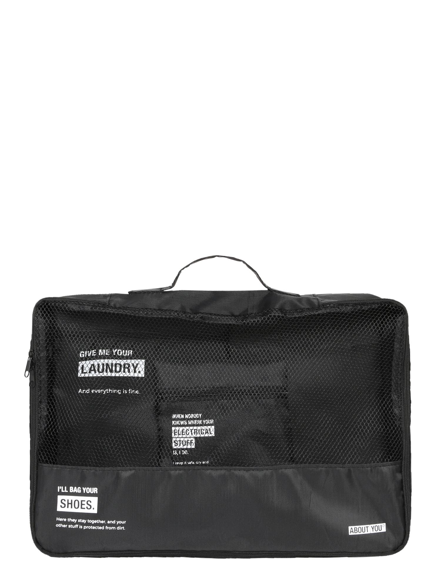 ABOUT YOU Víkendová taška  čierna