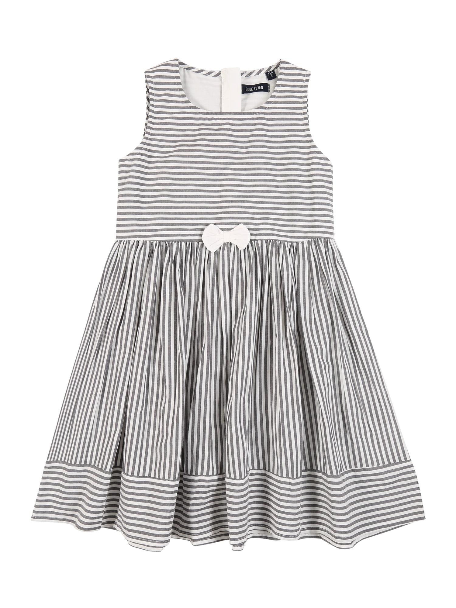 BLUE SEVEN Suknelė pilka / balta