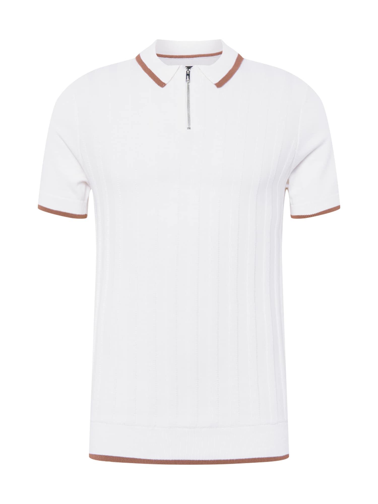 BURTON MENSWEAR LONDON Marškinėliai balkšva