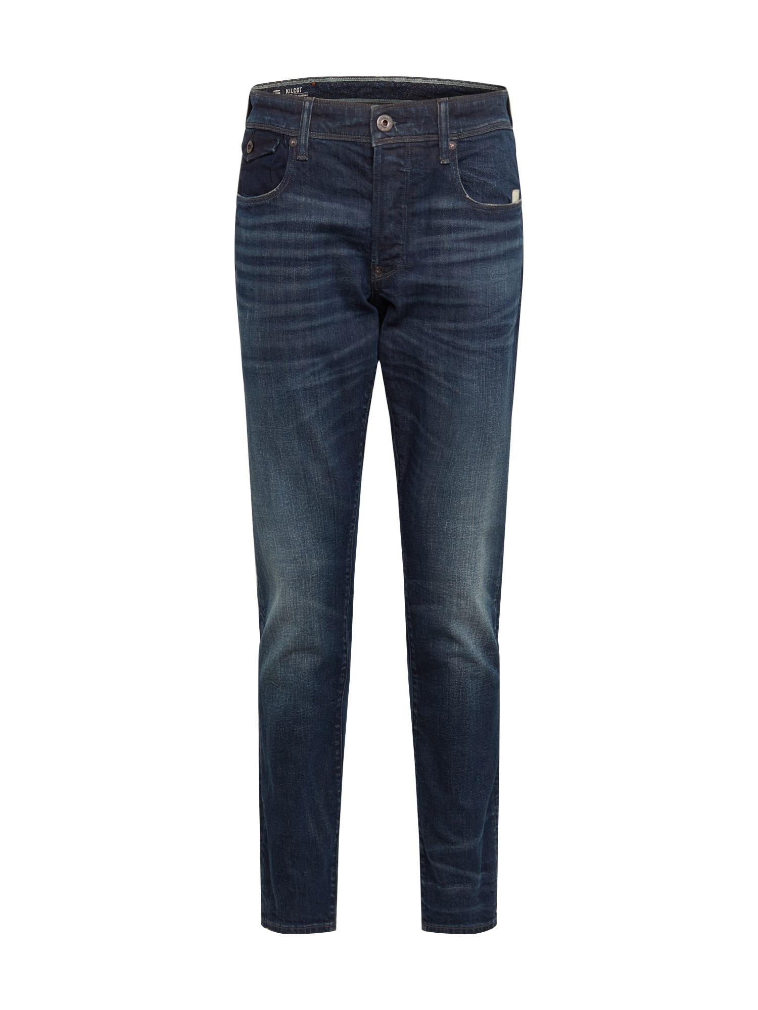G-Star RAW Džinsai 'Kilcot straight tapered' tamsiai (džinso) mėlyna
