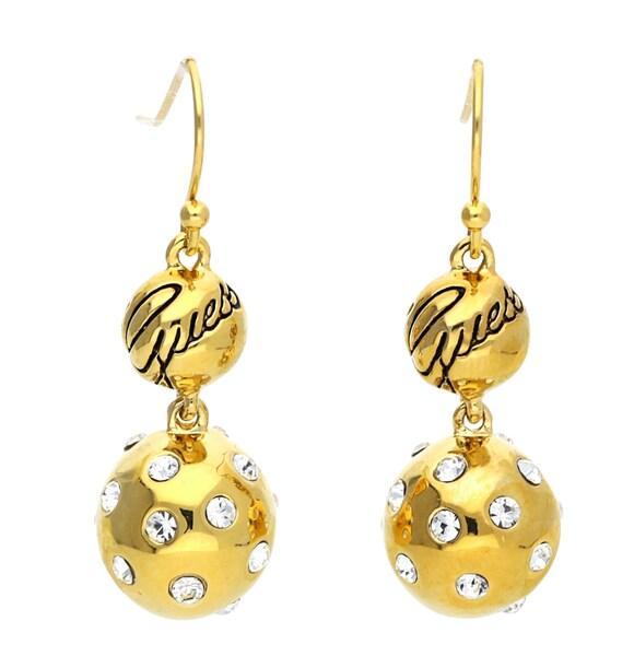 Ohrringe für Frauen - GUESS Ohrringe mit modischem Steinbesatz UBE31308 gold  - Onlineshop ABOUT YOU