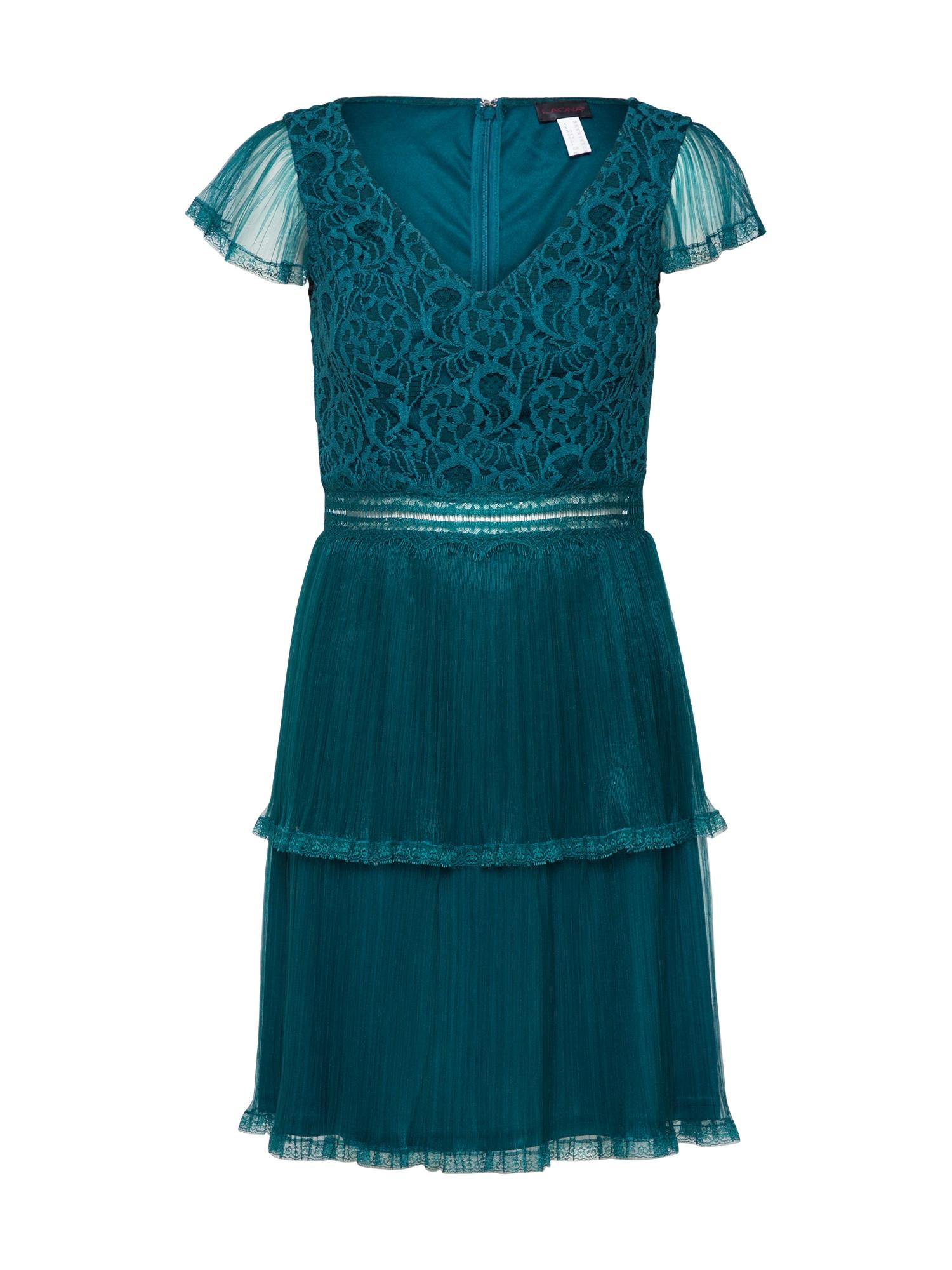 Laona Kokteilinė suknelė smaragdinė spalva