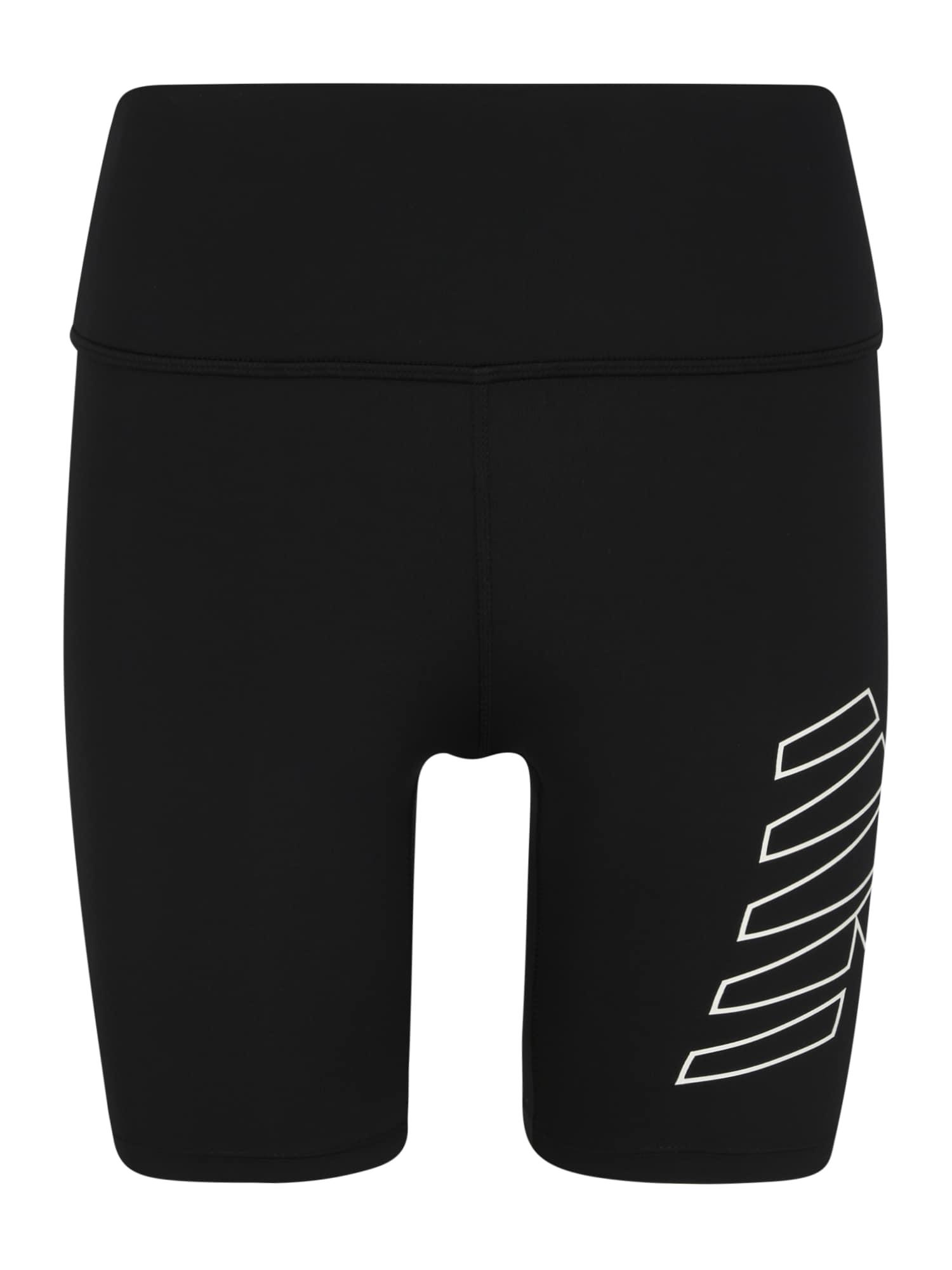 new balance Sportinės kelnės 'ACHIEVER' juoda / balta