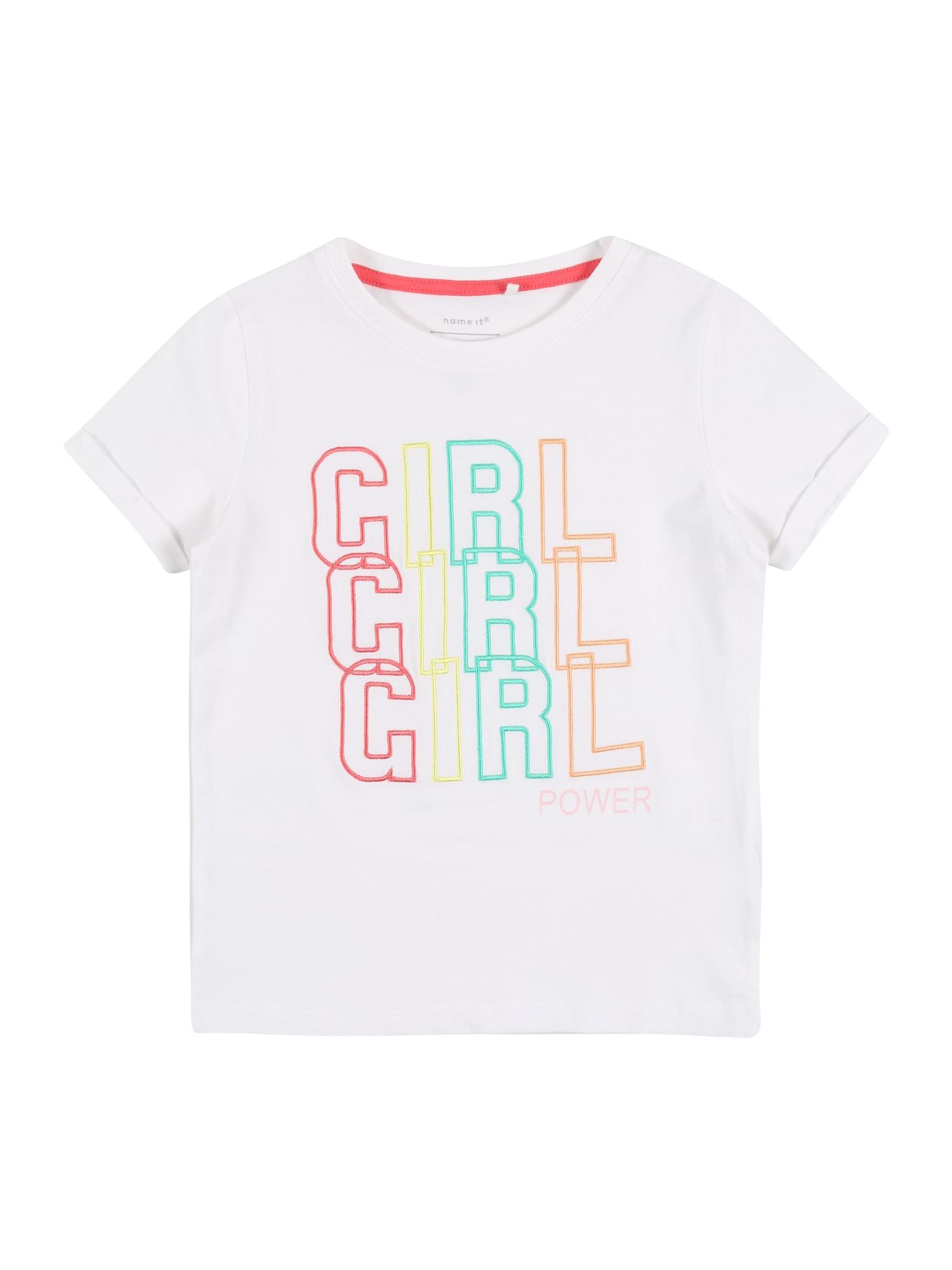 NAME IT Marškinėliai 'NMFHASUMMER' mišrios spalvos