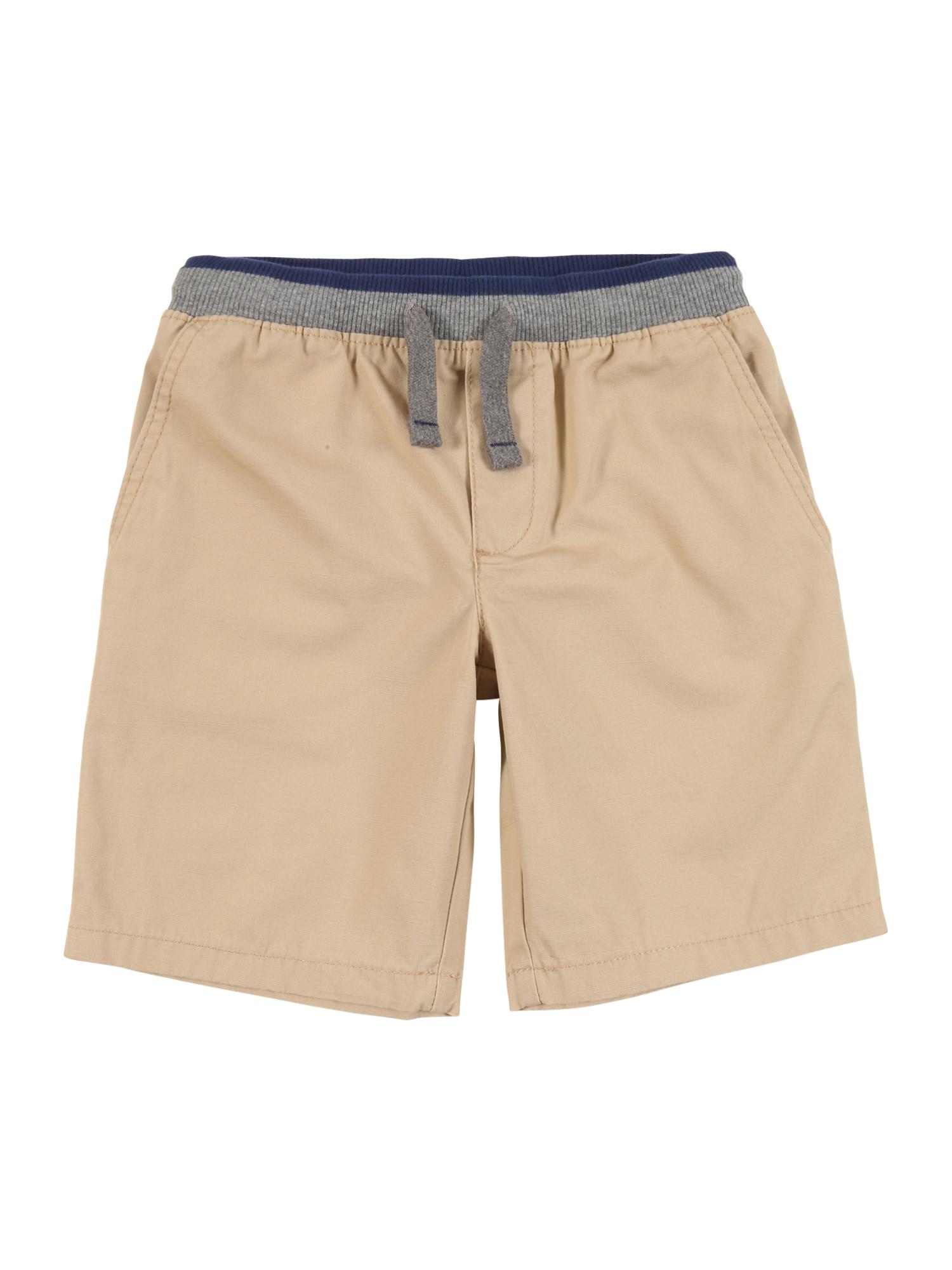 Carter's Kelnės gelsvai pilka spalva / pastelinė oranžinė