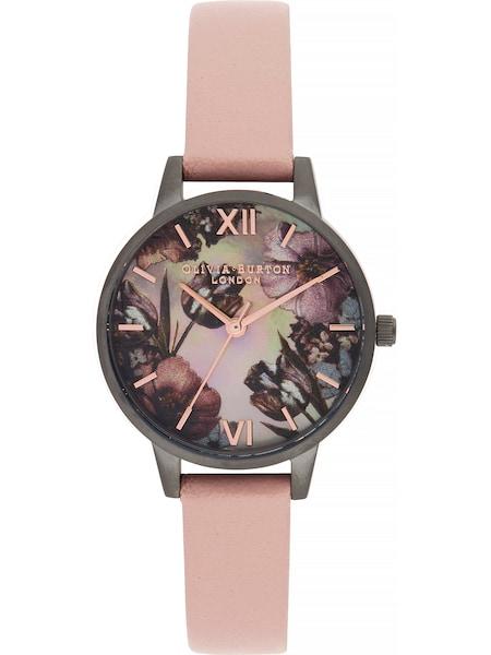 Uhren für Frauen - Olivia Burton Uhr 'Twilight OB16TW04' dunkelgrau pastellpink  - Onlineshop ABOUT YOU