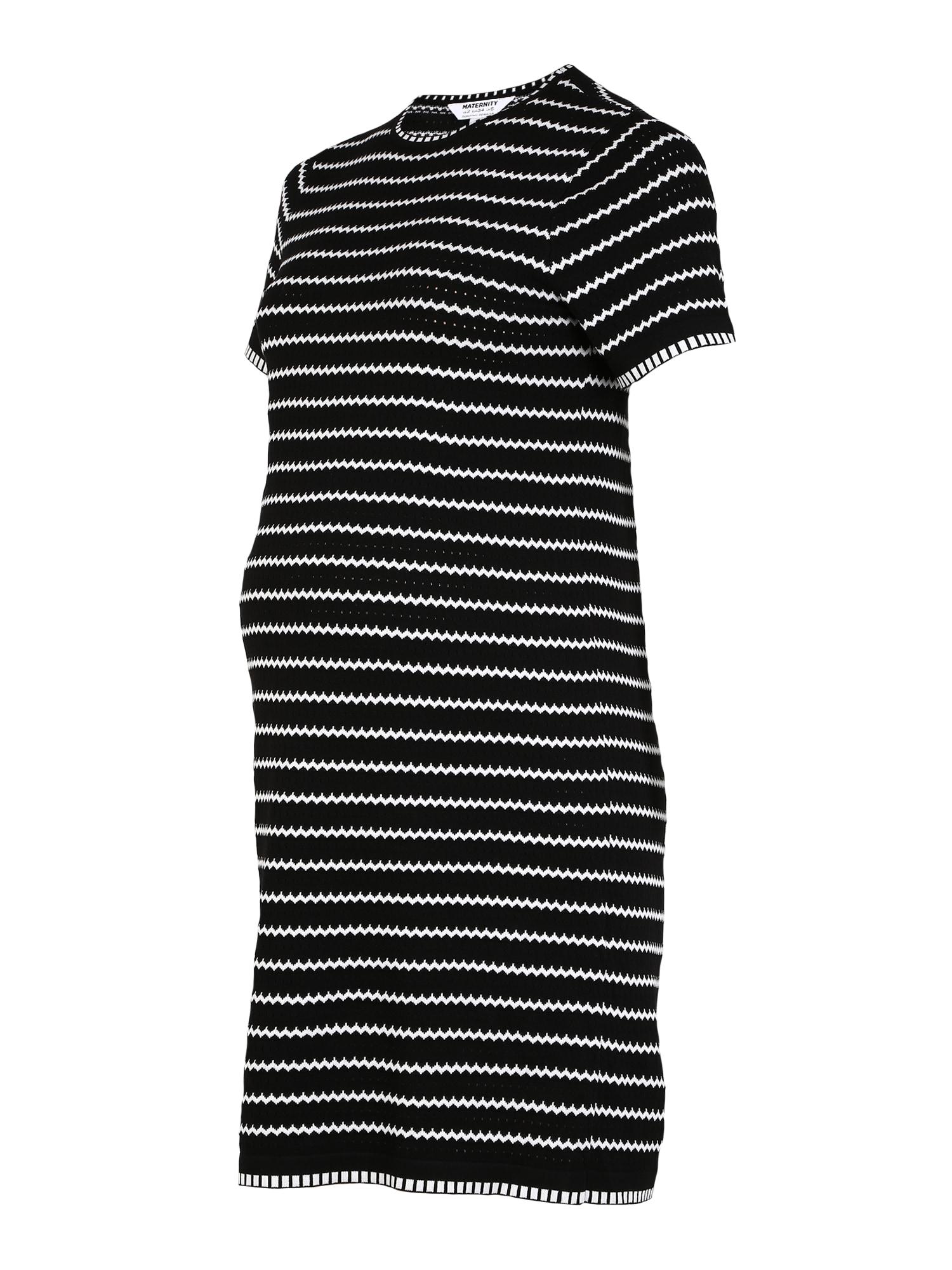 Dorothy Perkins Letné šaty  čierna / biela