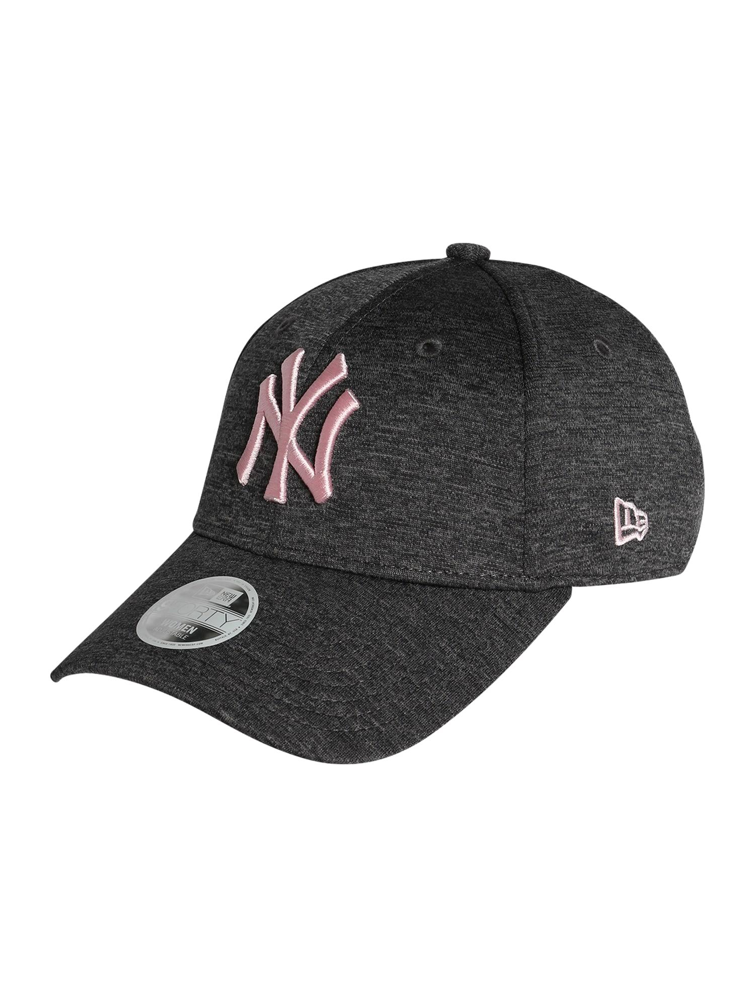 NEW ERA Kepurė tamsiai pilka / rožinė