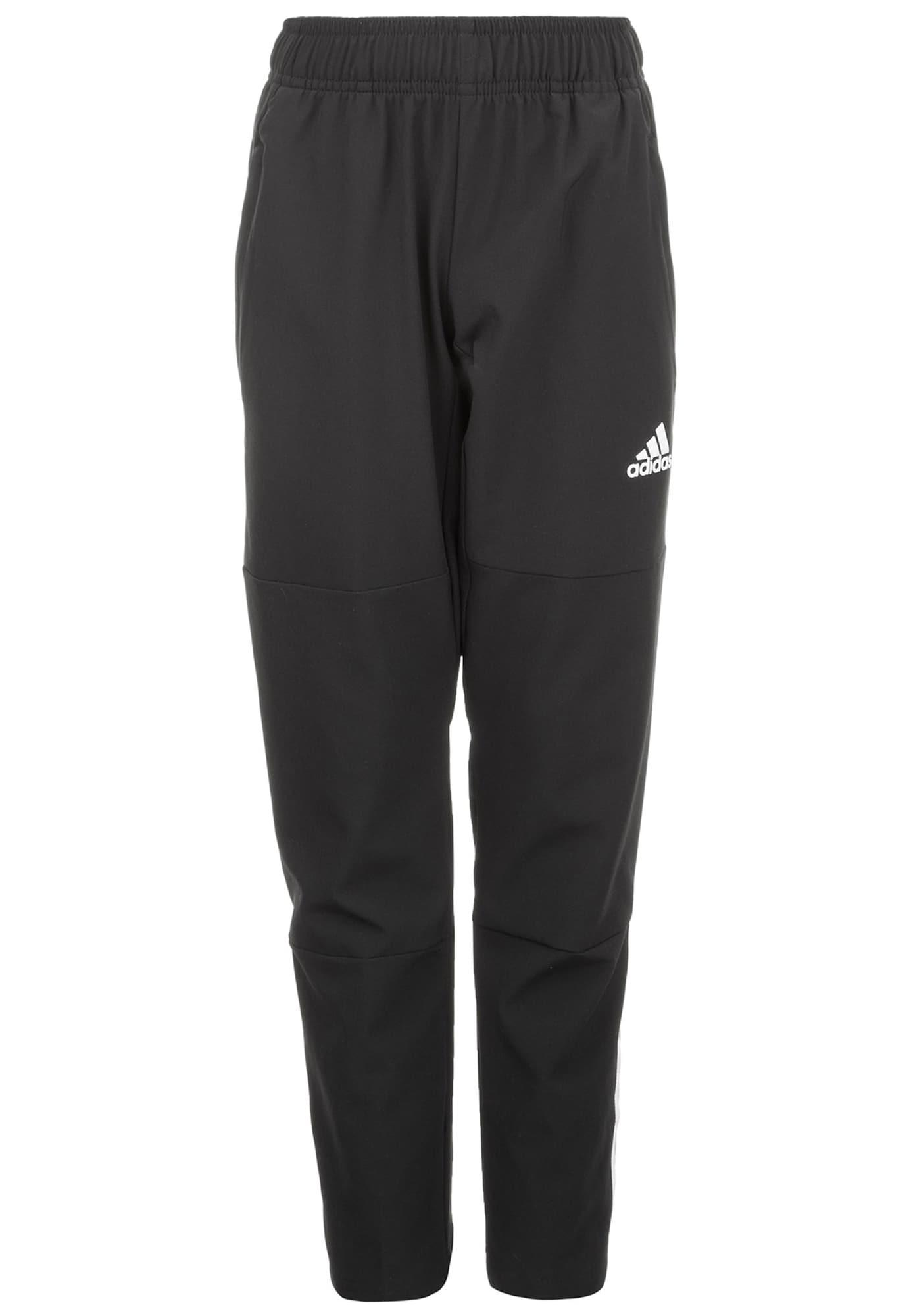 ADIDAS PERFORMANCE Sportinės kelnės 'Equipment' juoda / balta