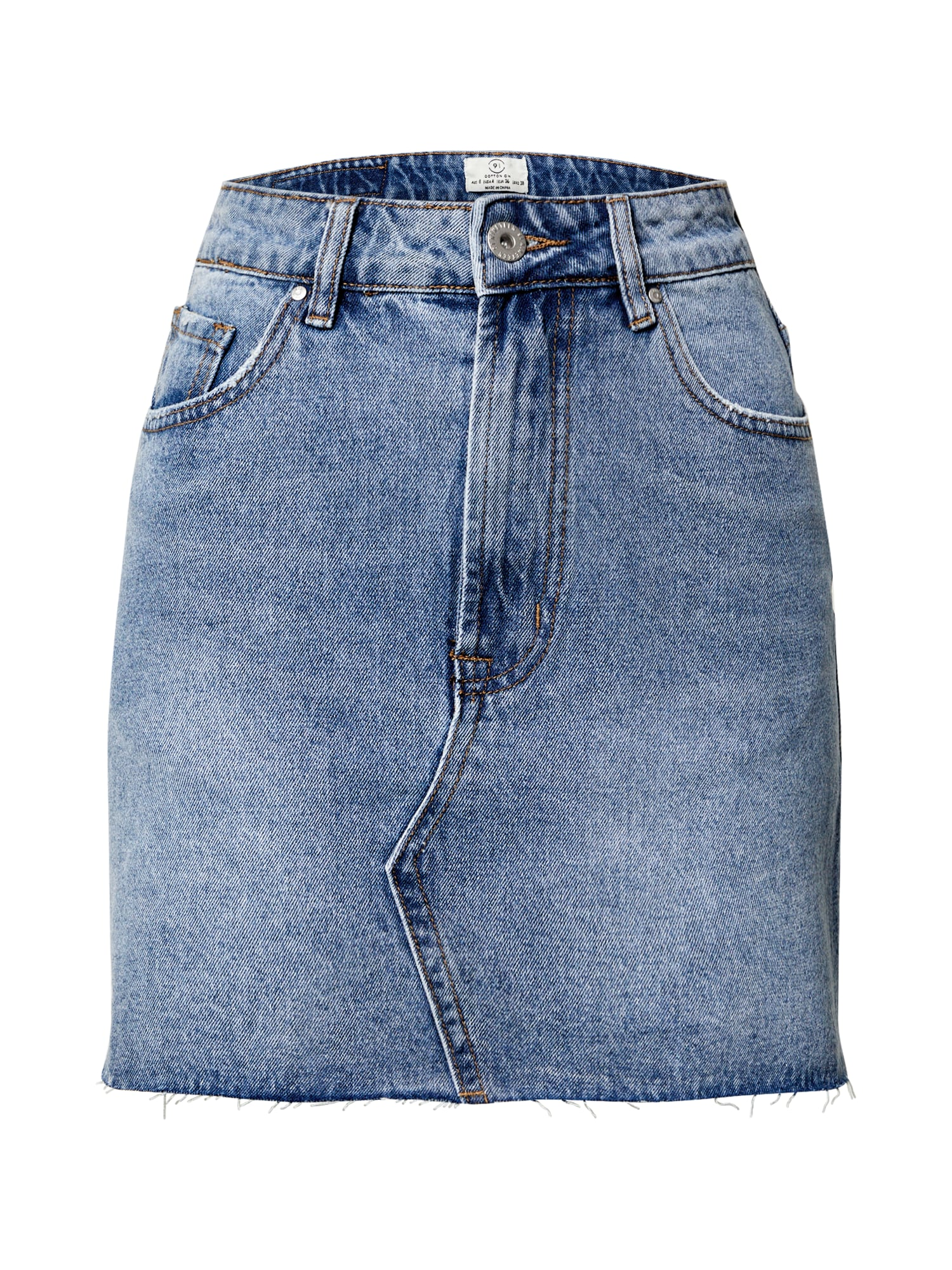 Cotton On Sukňa 'THE CLASSIC DENIM SKIRT'  modré