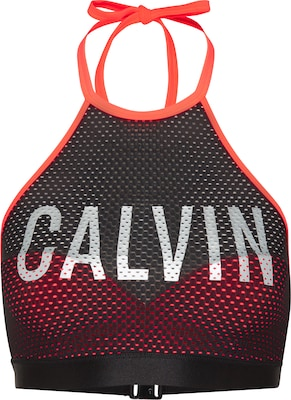 Calvin Klein Swimwear High-Neck Bikinitop