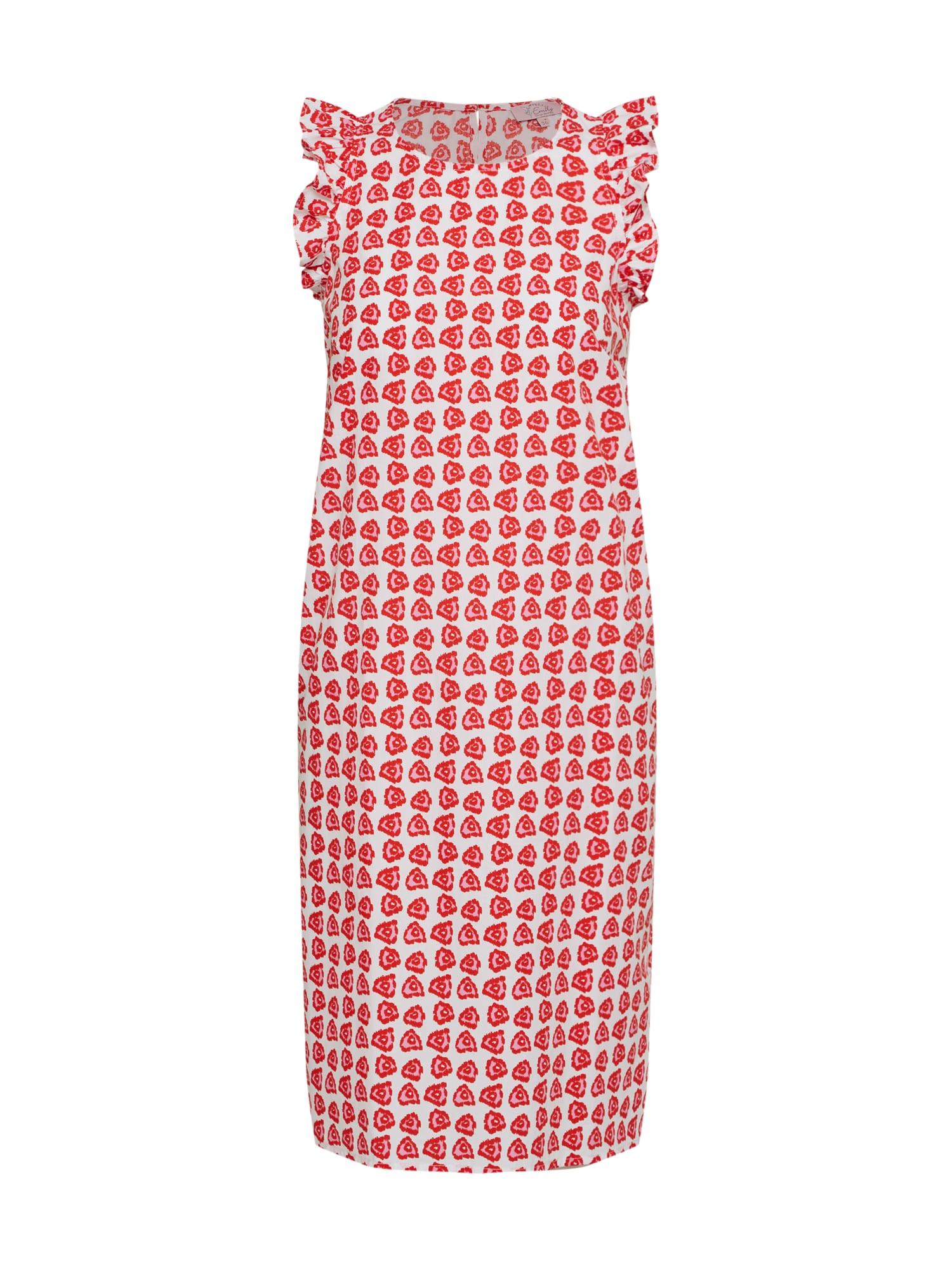 Šaty červená Emily Van Den Bergh