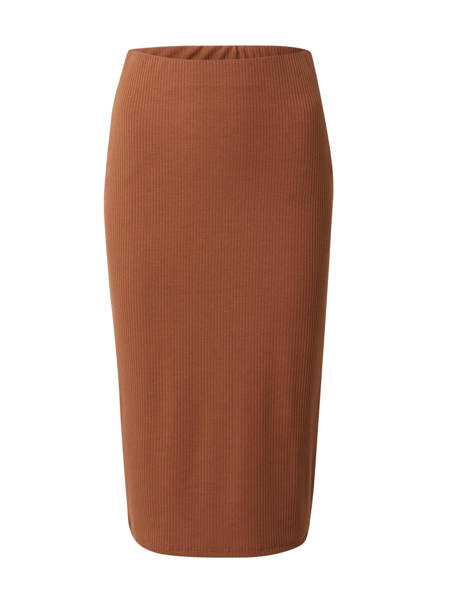 VILA Sukně  hnědá