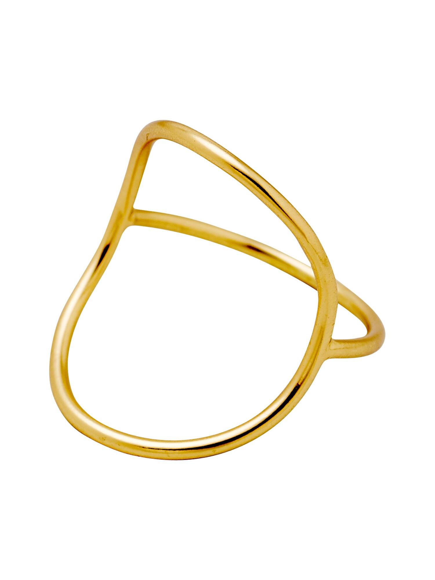 Prsten Mia zlatá Pilgrim