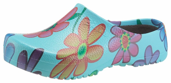 Clogs für Frauen - BIRKENSTOCK Clog 'Super Birki' türkis  - Onlineshop ABOUT YOU