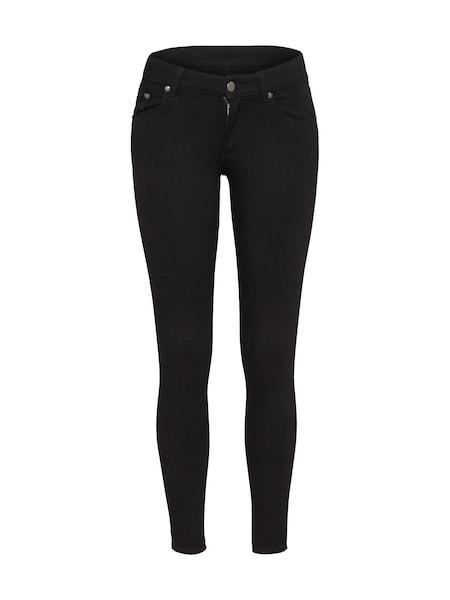 Hosen - Skinny Jeans 'Low Skin' › Cheap Monday › black denim  - Onlineshop ABOUT YOU