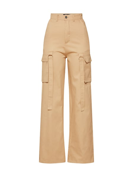 Hosen - Hose 'Utility Trouser Sand' › Missguided › beige  - Onlineshop ABOUT YOU