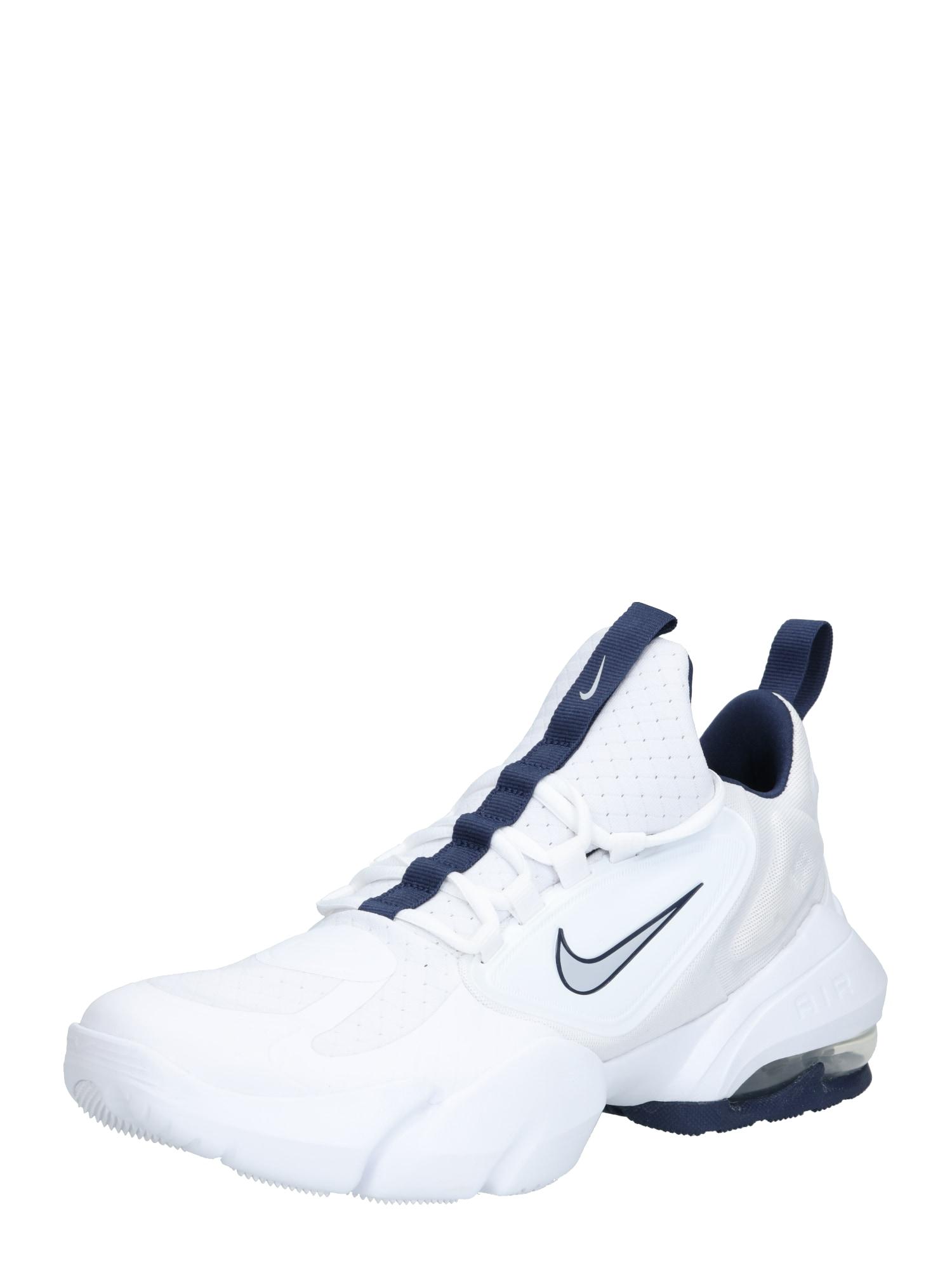 NIKE Sportiniai batai 'Nike Air Max Alpha Savage' pilka / balta