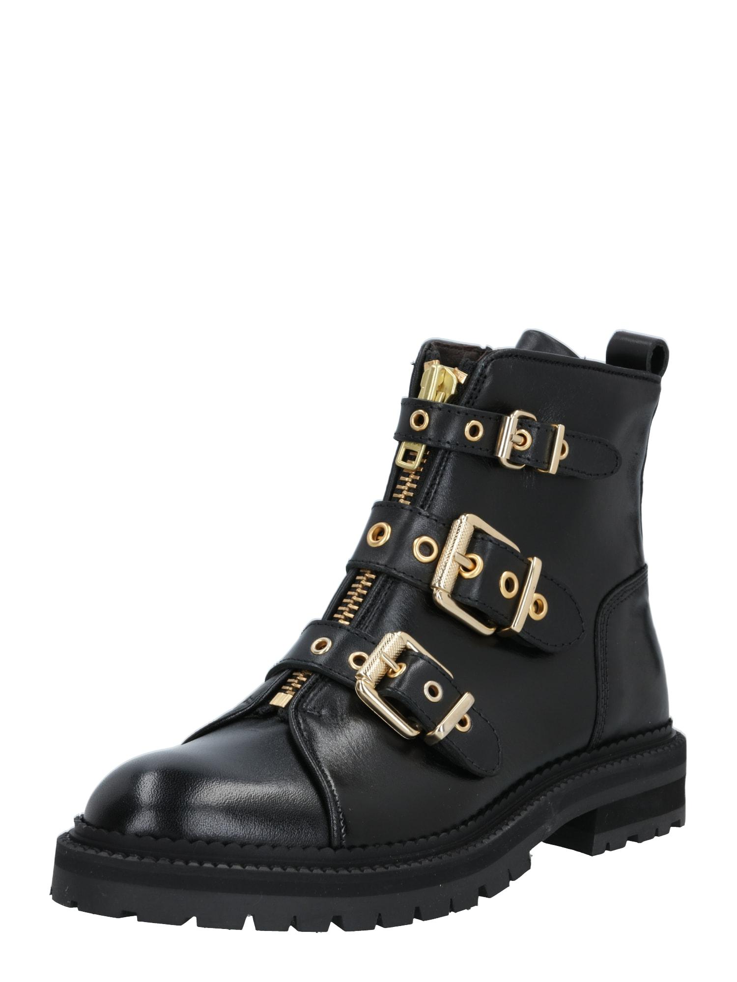 Billi Bi Auliniai batai juoda / auksas