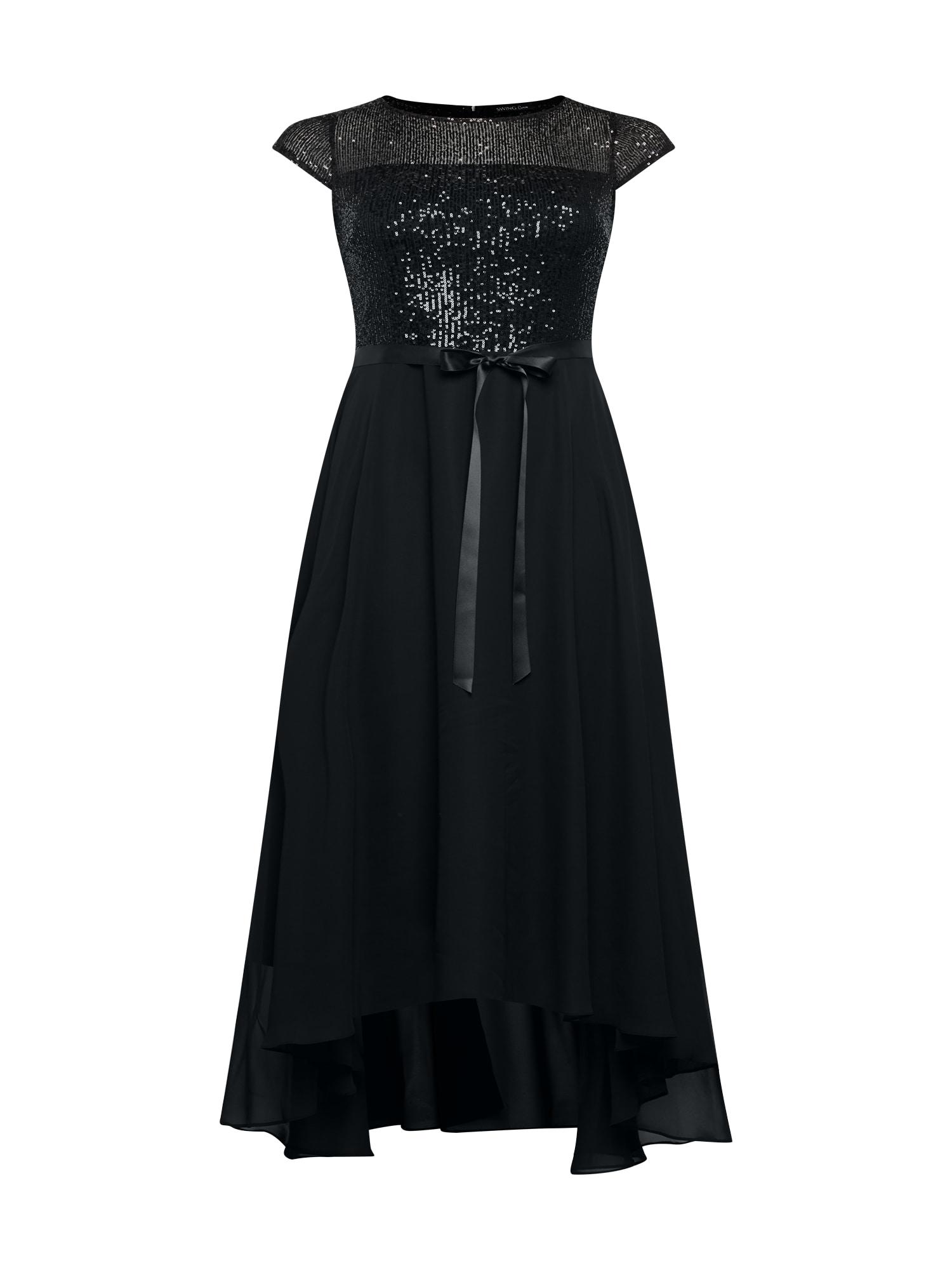 SWING Curve Suknelė juoda