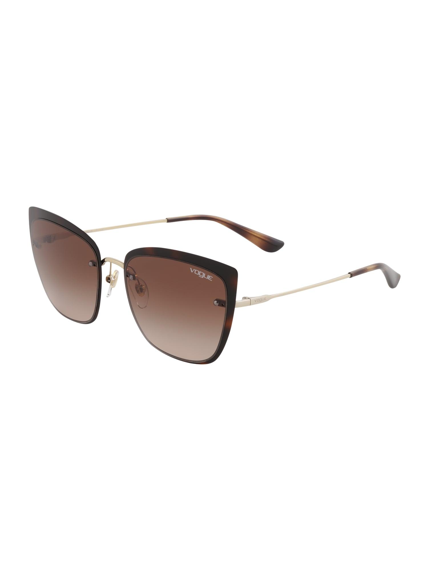 VOGUE Eyewear Akiniai nuo saulės '0VO4158S' ruda / auksas