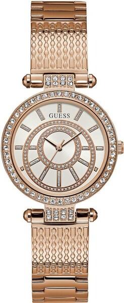 Uhren für Frauen - GUESS Quarzuhr 'MUSE' rosegold  - Onlineshop ABOUT YOU