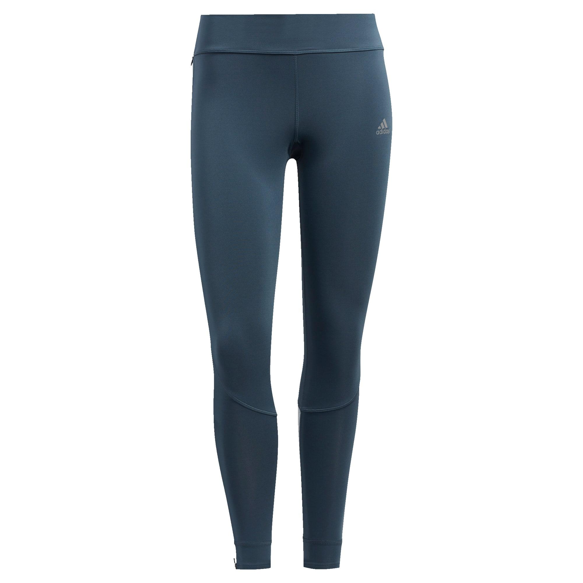 ADIDAS PERFORMANCE Sportovní kalhoty 'Own The Run'  petrolejová / bílá / černá