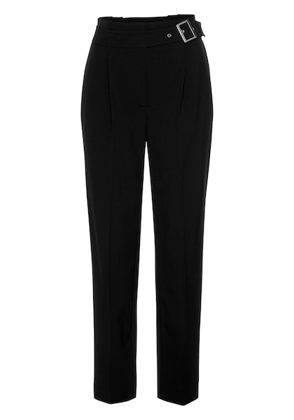 Hosen für Frauen - BRUNO BANANI Paperbag Hose schwarz  - Onlineshop ABOUT YOU