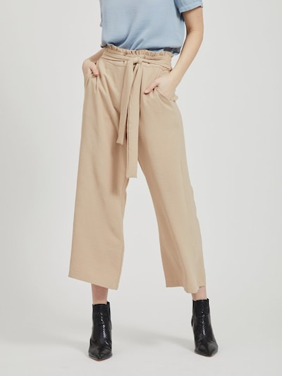 Vila Rasha High Waisted Cropped Wide Fit Hose
