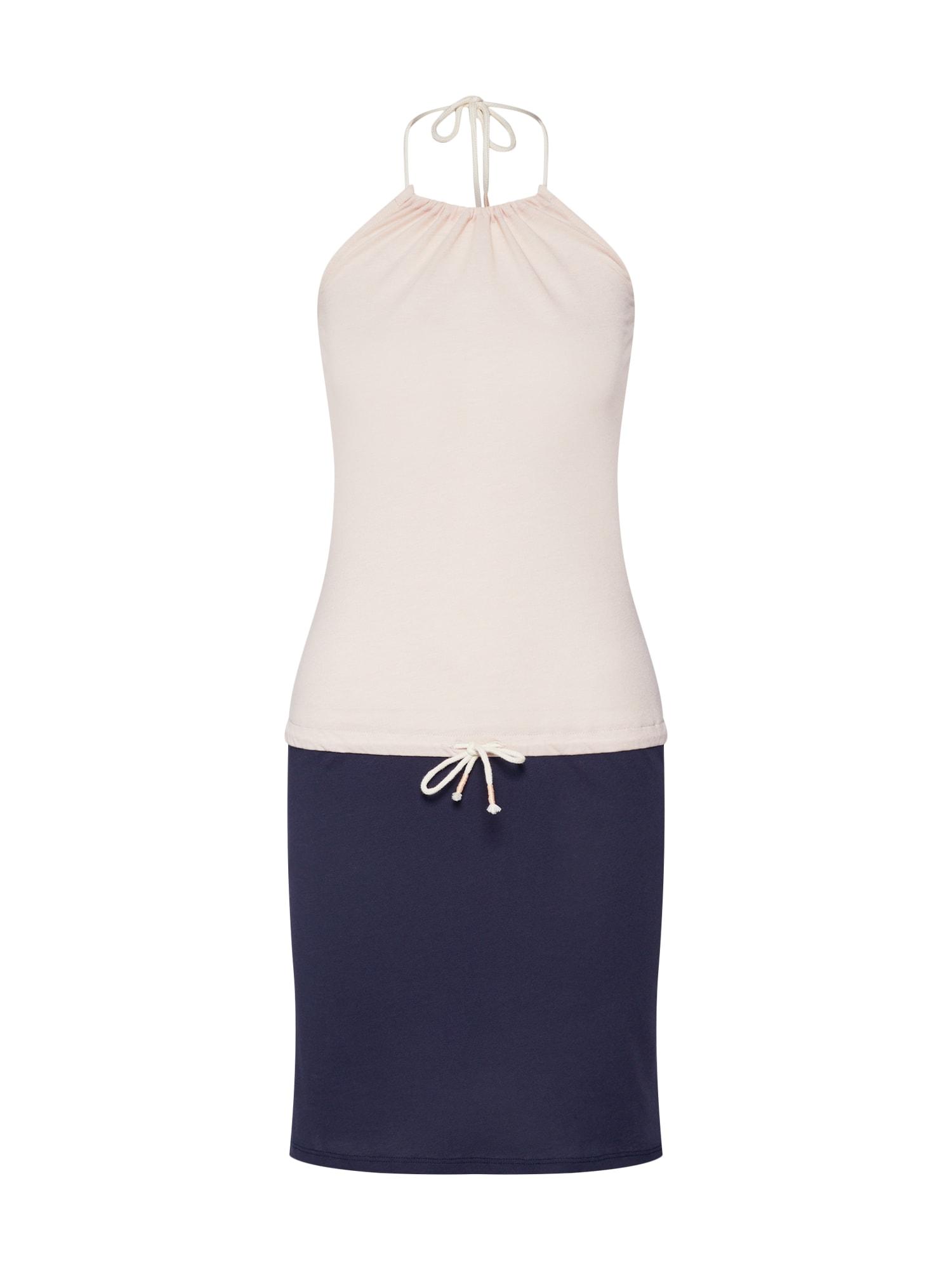 Letní šaty béžová námořnická modř Iriedaily