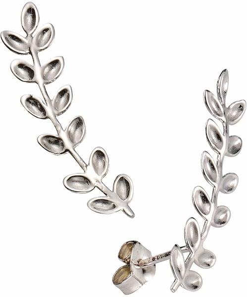 Ohrringe für Frauen - FIRETTI Paar Ohrstecker »Blätter« silber  - Onlineshop ABOUT YOU