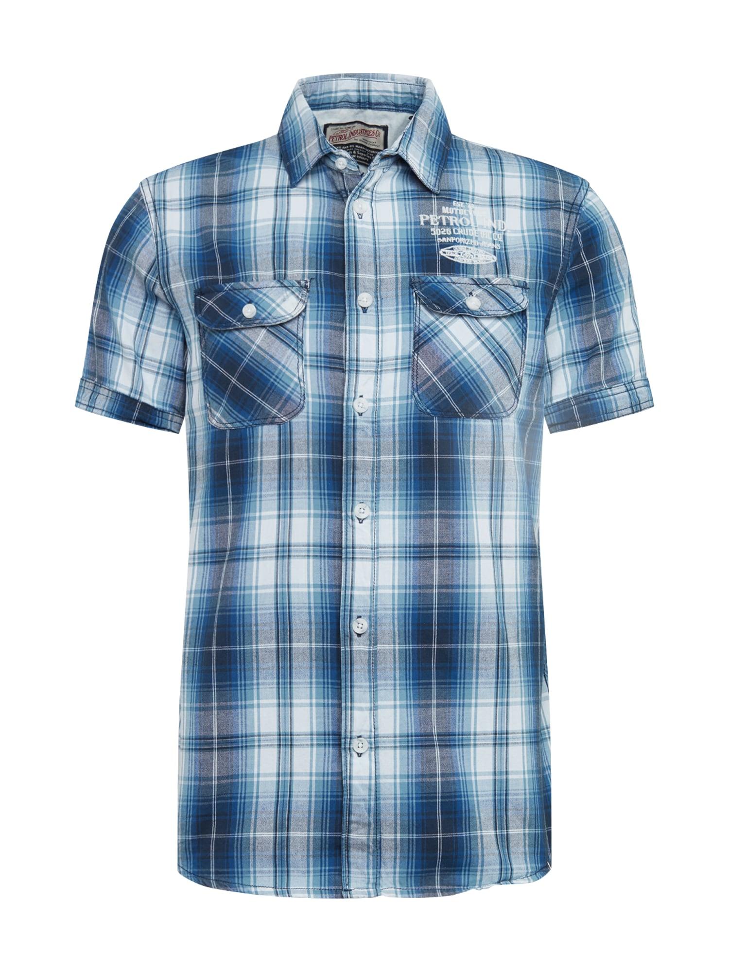 Košile modrá Petrol Industries