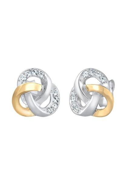 Ohrringe für Frauen - ELLI Ohrringe 'Knoten' gold silber  - Onlineshop ABOUT YOU