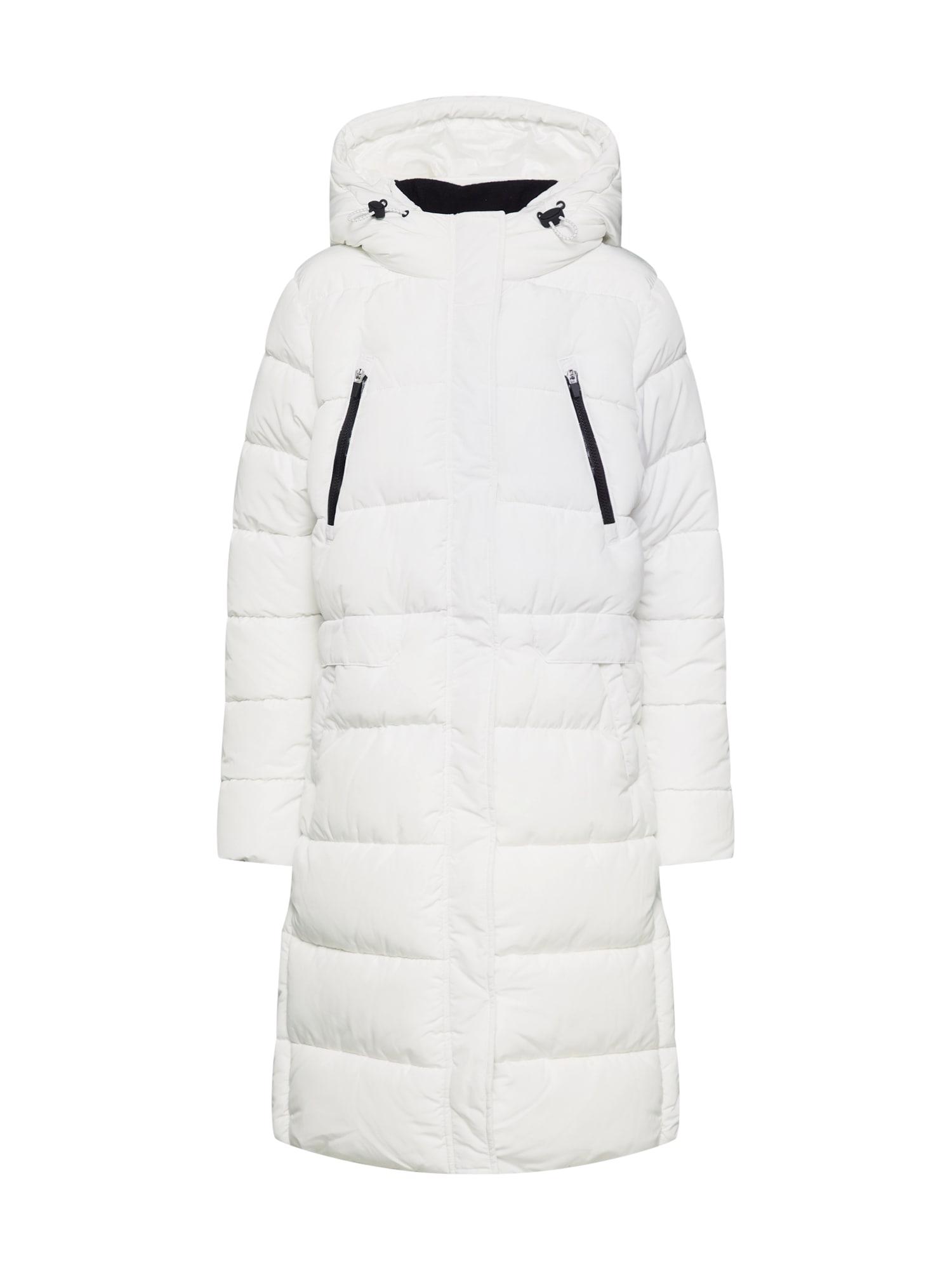 TOM TAILOR DENIM Žieminis paltas balta