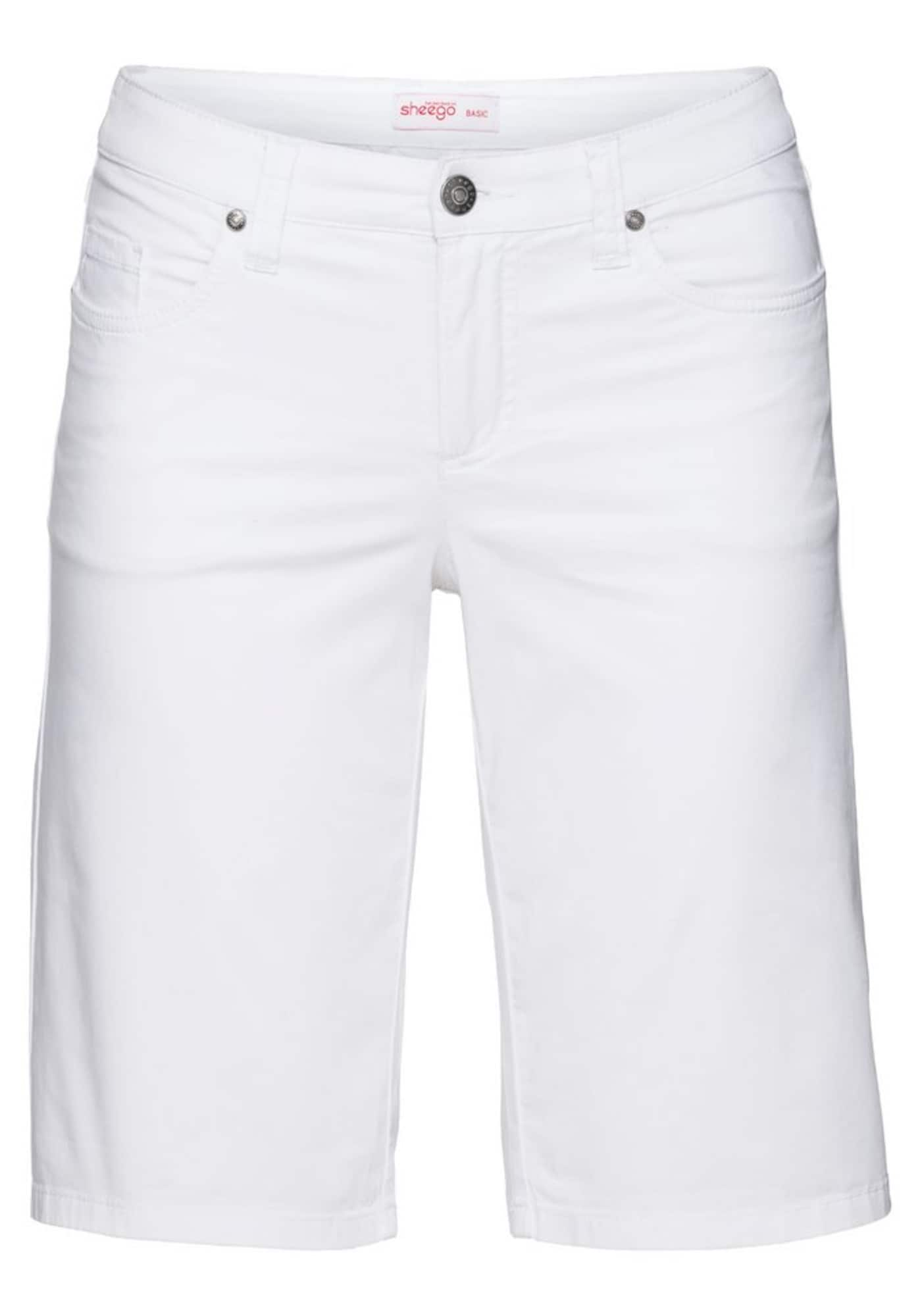 SHEEGO Kelnės balta