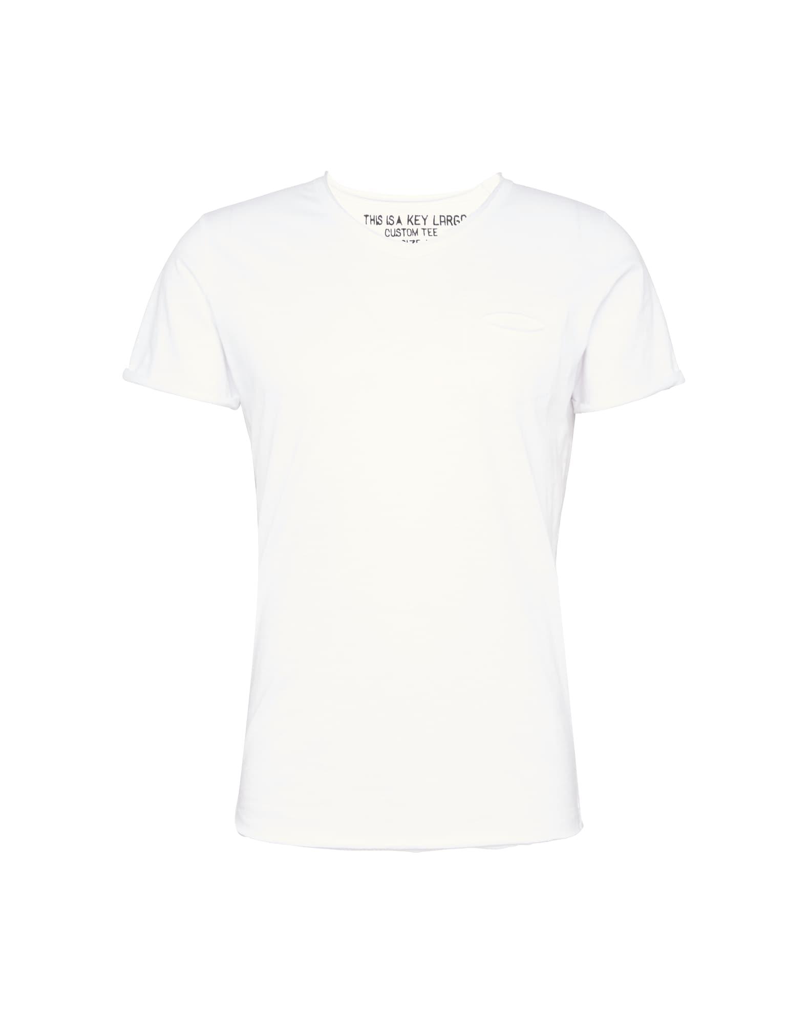 Key Largo Marškinėliai balta