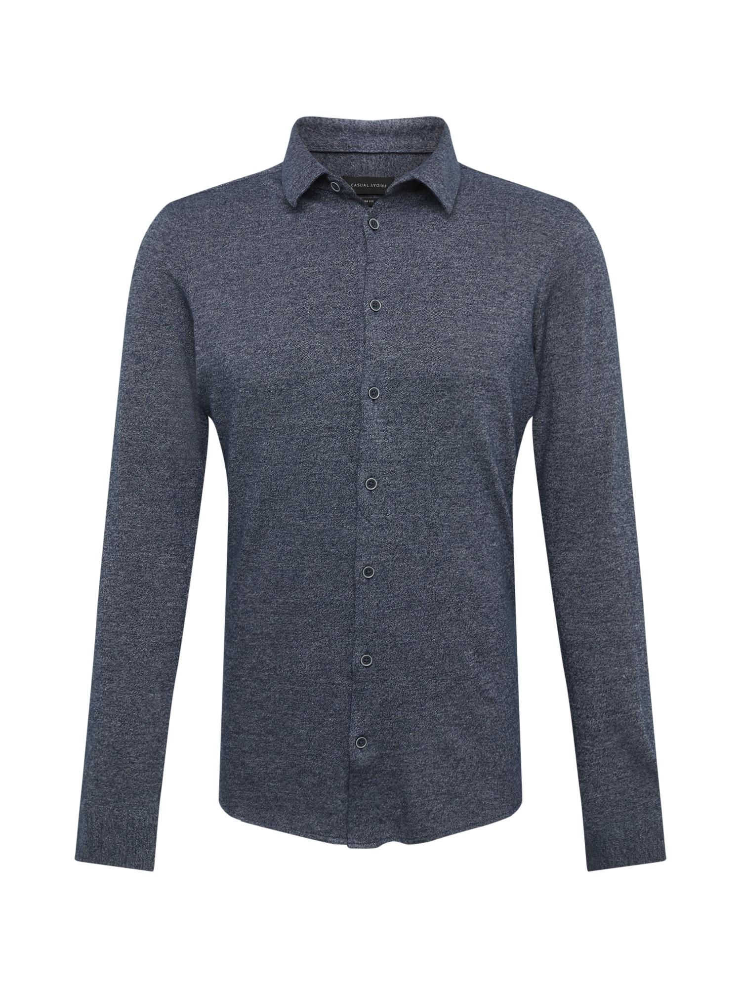 Košile chladná modrá Casual Friday