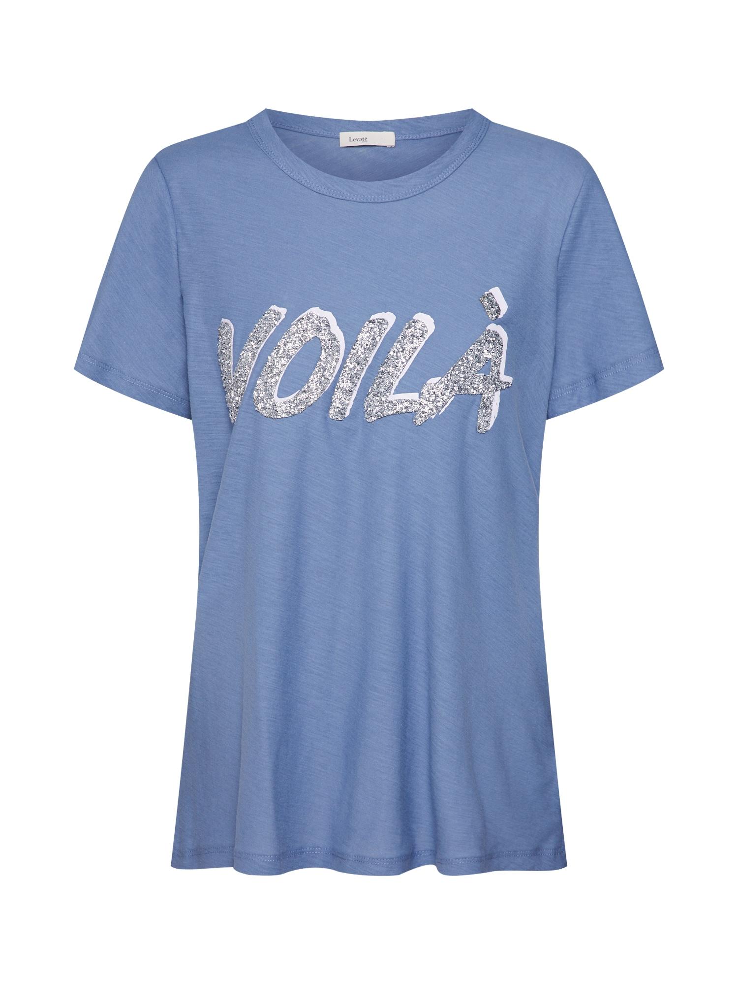 Tričko LR-ALVINA 13 modrá stříbrná Levete Room