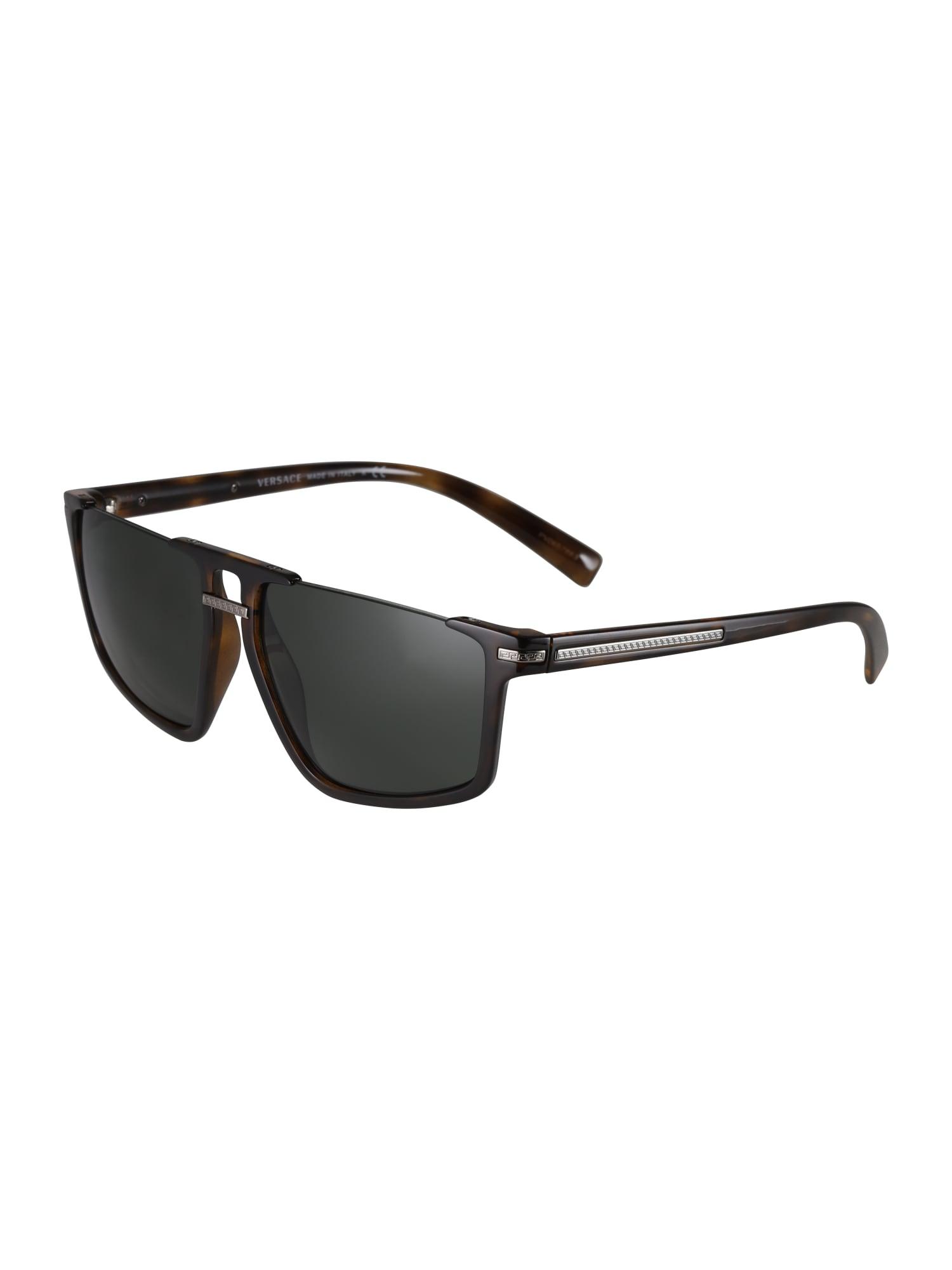 VERSACE Slnečné okuliare  hnedé