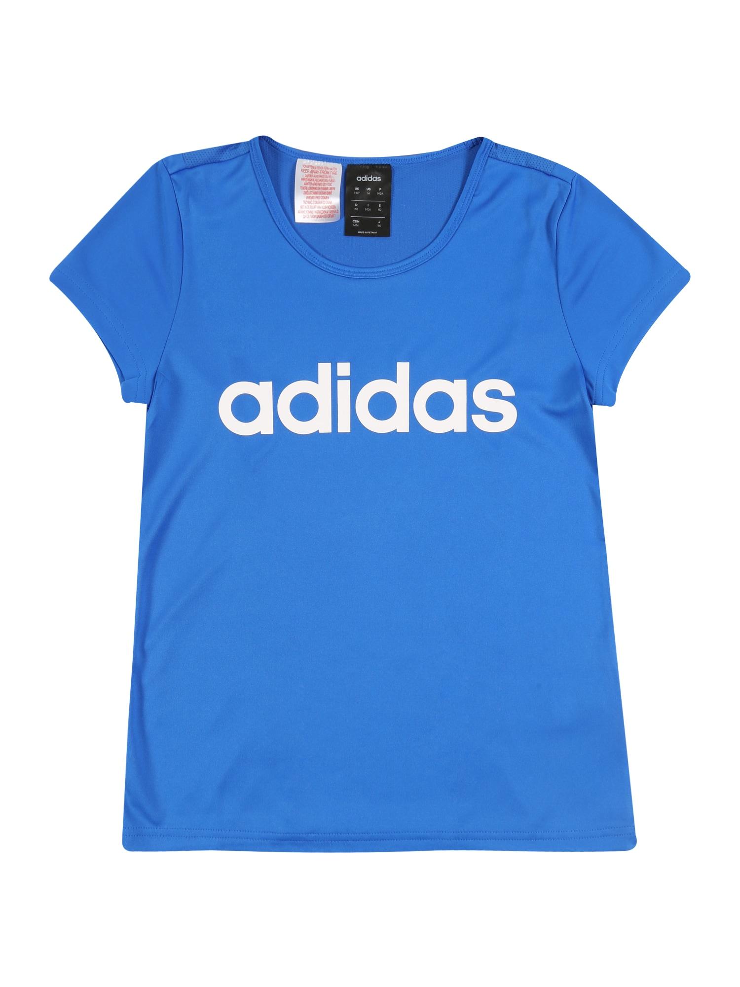 ADIDAS PERFORMANCE Sportiniai marškinėliai kobalto mėlyna