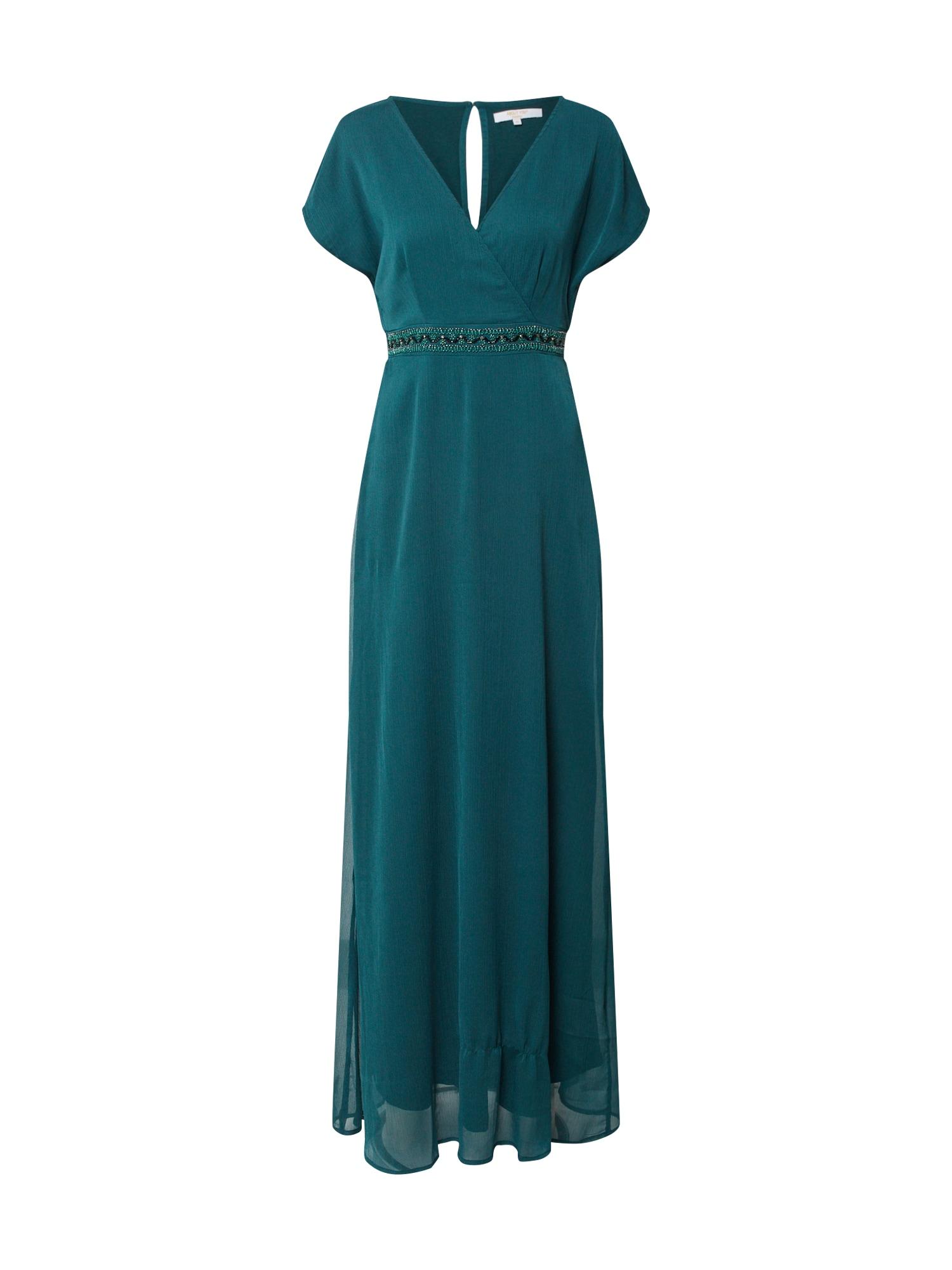 ABOUT YOU Vakarinė suknelė 'Inaya' smaragdinė spalva