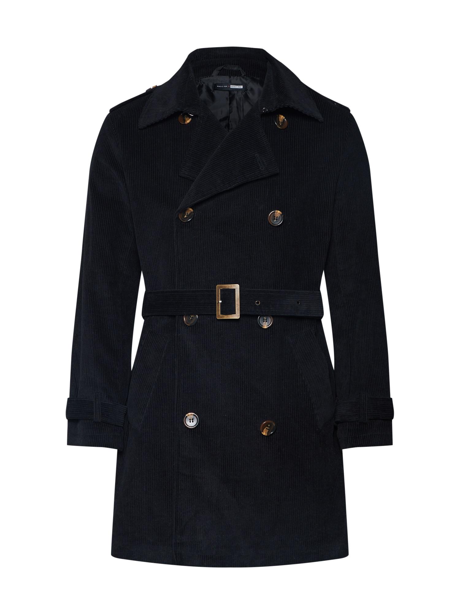 ABOUT YOU x Magic Fox Rudeninis-žieminis paltas 'Colin' juoda